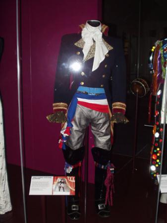 adam ant prince charming costume in the v a museum