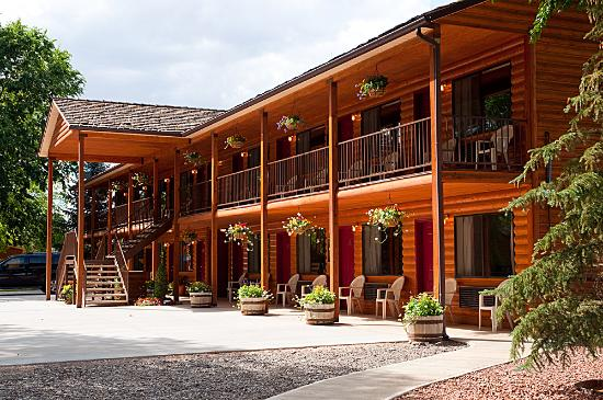 Austin's Chuckwagon Lodge and General Store: Motel units