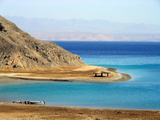 &quot;El fiord&quot; Lagoon between Nuweiba and Taba