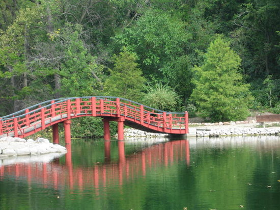 Janesville, WI: Japanese Bridge, Very Peaceful