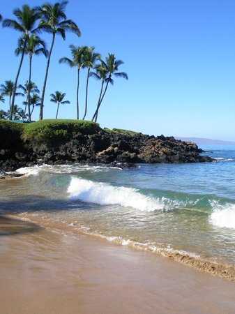 beach in Maui  
