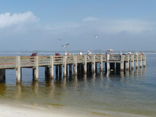 Fort pickens fishing pier escambia county fl for Pensacola beach fishing pier