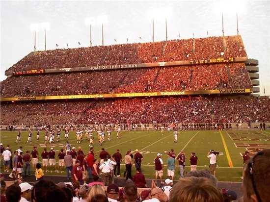 Kyle Field, Texas A&amp;M University, College Station, TX, United States