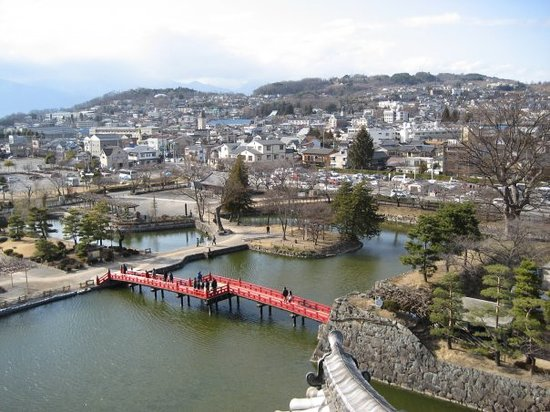 Matsumoto, Japan: imperial castle&#39;s view