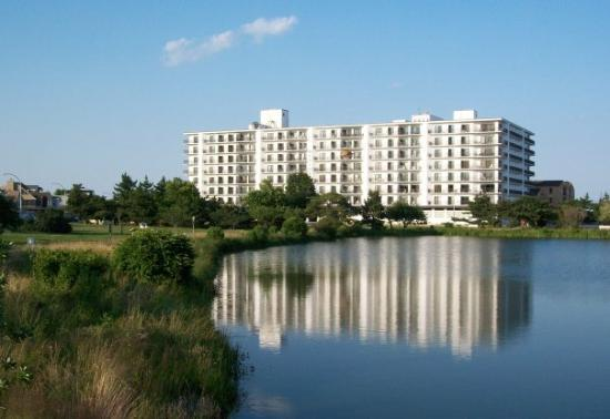 Henlopen Condo (Highest Building unlike Ocean City, MD) and Lake Gerar ...
