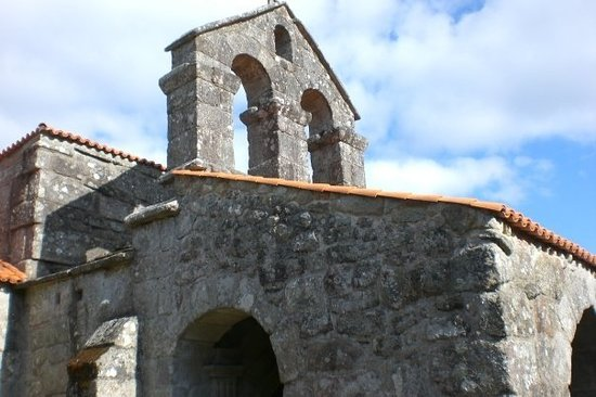 Province d&#39;Orense, Espagne : Iglesia visigtica en Balde. 