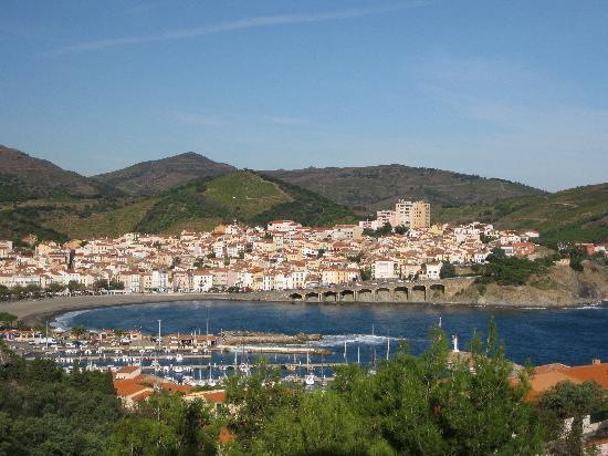 Banyuls-sur-mer, France : View from my bedroom