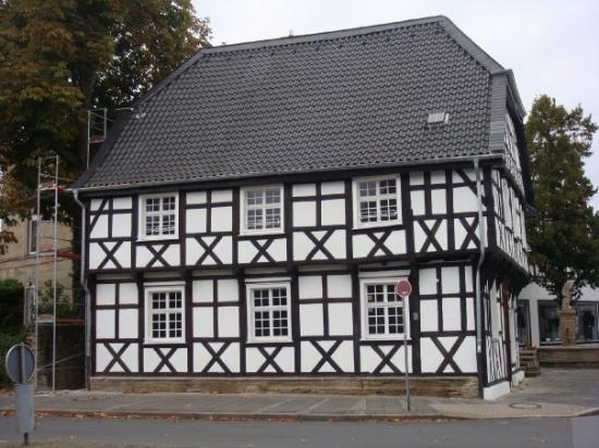 Hagen, Allemagne : A German (Katharina fill in the blank) haus