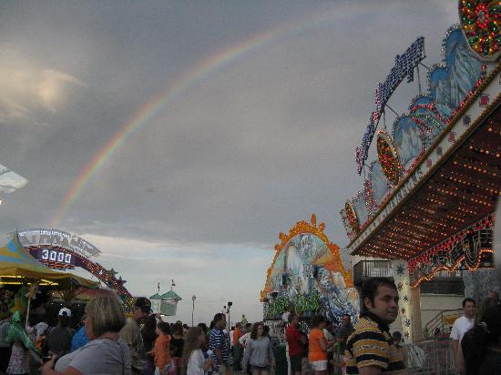 Rainbow Picture Of Point Pleasant Beach Jersey Shore