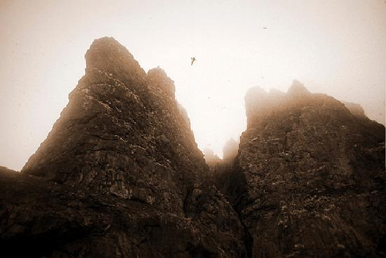 Las Hébridas, UK: Crags of Boreray
