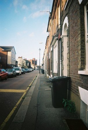 Luton, UK: Wellington Street.
