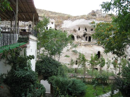Gamirasu Cave Hotel: View from Reception