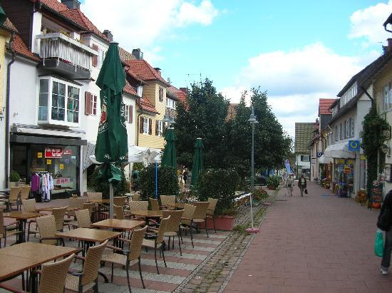 Einkaufsgasse in Freudenstadt