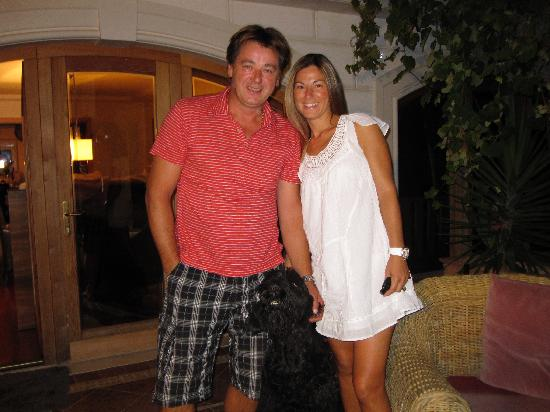Villa Skansi: Julia, Matko, and their sweet dog Blacky