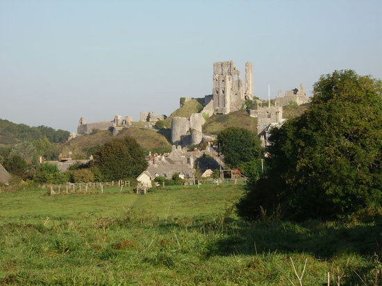 Den engelske riviera, UK: Corfe Castle