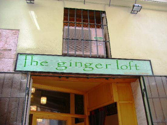 Outside the ginger loft picture of the ginger loft cafe - Loft valencia ...