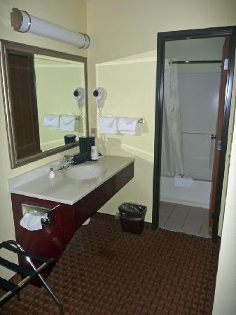 Best Western York Inn: The Bathroom area