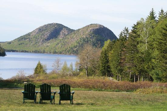DownEast and Acadia Maine, ME: Come - sit and relax by Jordan Pond
