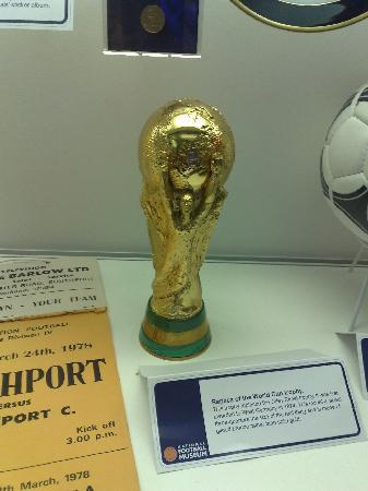 Replica of the present World Cup. By PrestonTraveller