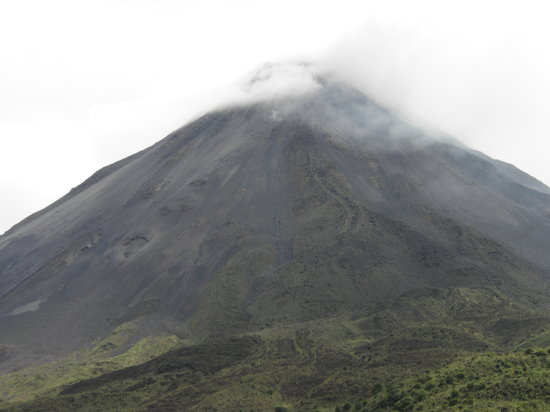 Province de Guanacaste, Costa Rica : The active Volcano Arenal 