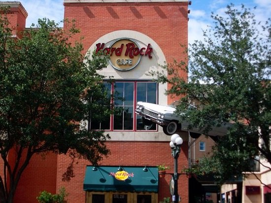 Hard Rock Cafe Riverwalk Menu