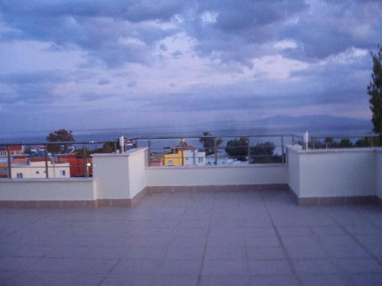 Akbulut Hotel &amp; Spa: Terrace from the Suite
