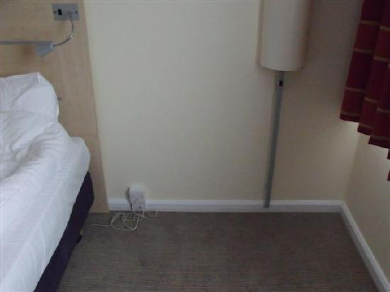 Holiday Inn Express Norwich: Missing sofa bed!