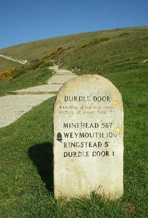 Seavale Bed and Breakfast: How far to Durdle Door!