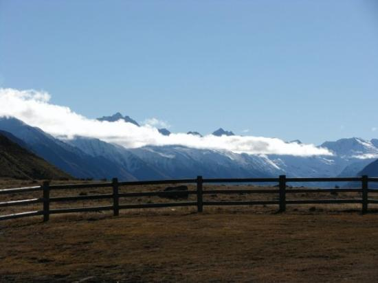 Omarama, New Zealand: the view