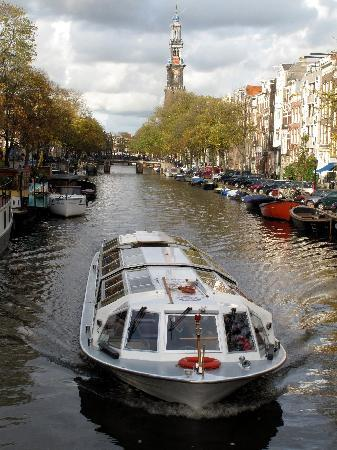 Canal cruise boat Picture of Renaissance Amsterdam Hotel