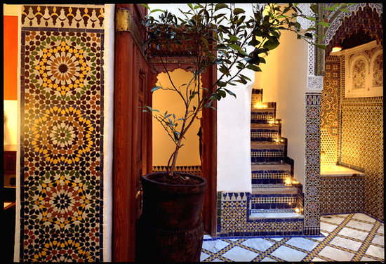 Riad Numero 9: courtyard