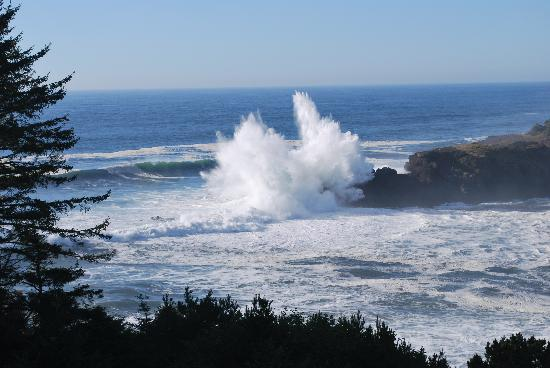 Depoe Bay, Oregón: Stormy Seas