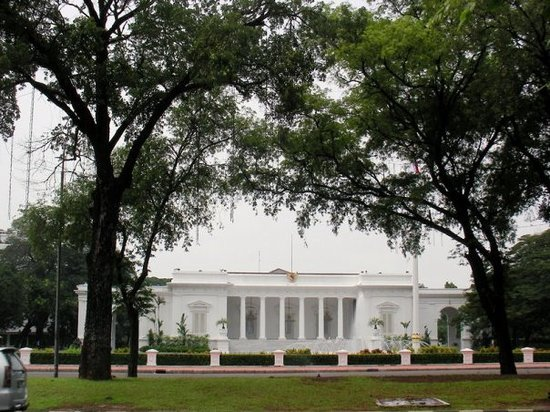 Jakarta, Indonesia: the presidential palace