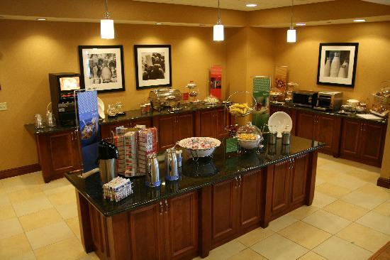 Hampton Inn Presque Isle: On The House Hot Breakfast Every Morning