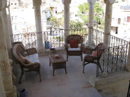 Meleklerevi Cave Hotel: Our private terrace