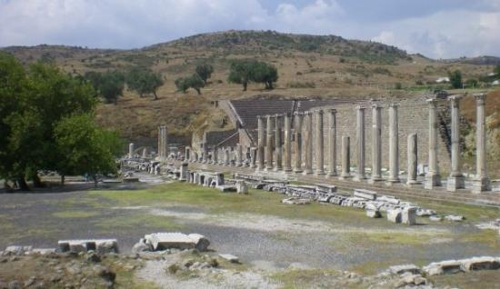 Bergama,Asklepion - Picture of The Asklepion, Bergama ...