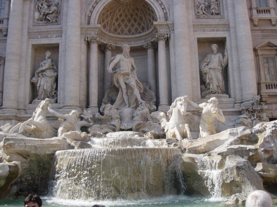 Italia: trevi fountain