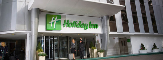 Holiday Inn London Kensington Forum: Hotel Entrance