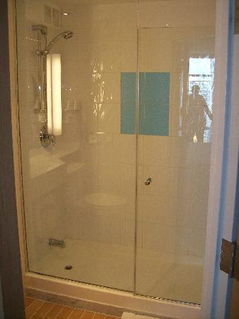 stand up shower - picture of novotel toronto north york