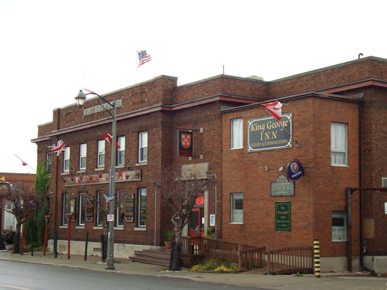 The King George Inn: Street view