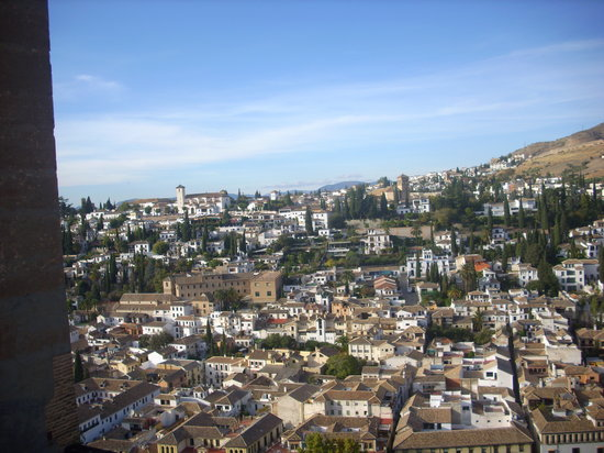 Granada Province, Spanien: Vista de Granada