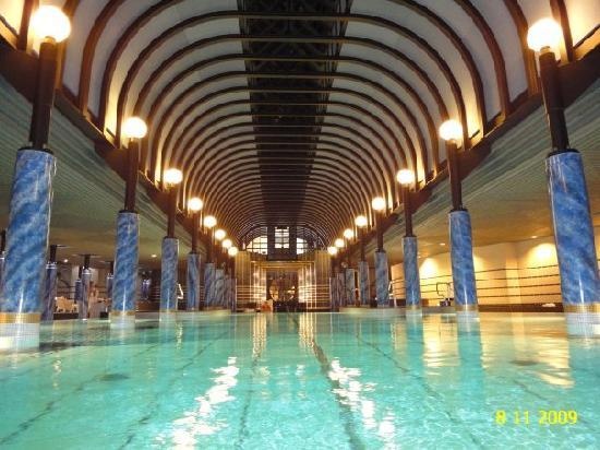 indoor swimming pool of the spa picture of victoria jungfrau grand hotel spa interlaken