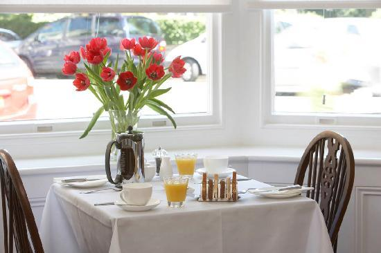Harbour House: Breakfast room