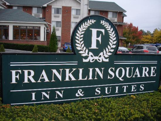 BEST WESTERN PLUS Franklin Square Inn Troy/Albany: hotel sign