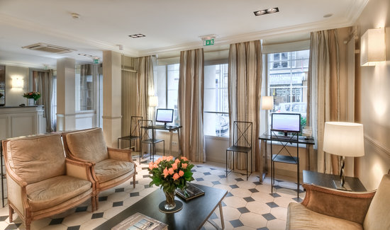 Hotel Relais Bosquet Paris: Lobby