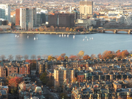 Boston, MA: The view