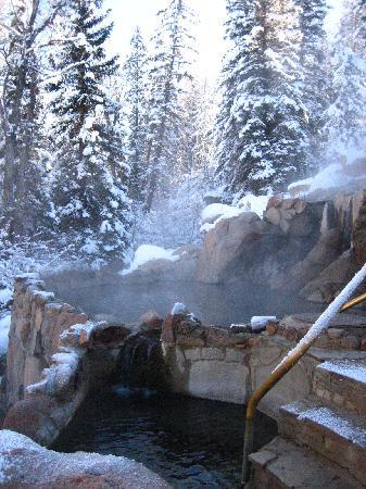 Strawberry Park Natural Hot Springs: hot springs