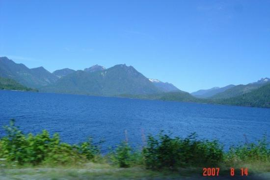 Port Alberni, Canada: Island Mountains