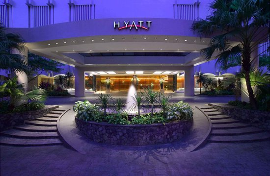 Grand Hyatt Singapore: Main Entrance