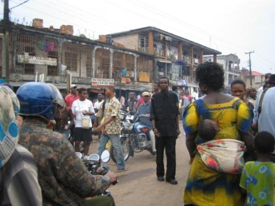 Benin City - high street!